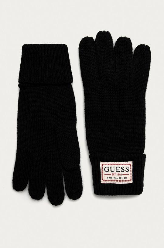 negru Guess Jeans - Manusi De bărbați