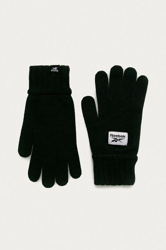 czarny Reebok - Rękawiczki Męski