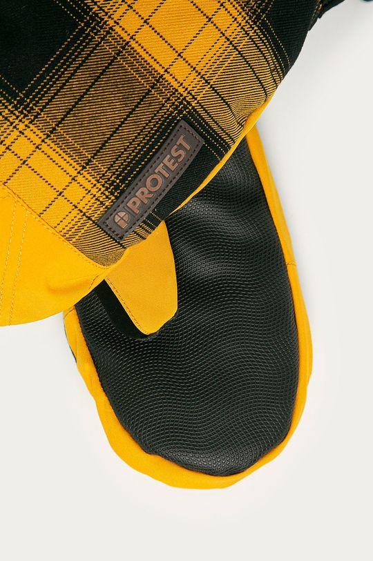 Protest - Rękawiczki żółty
