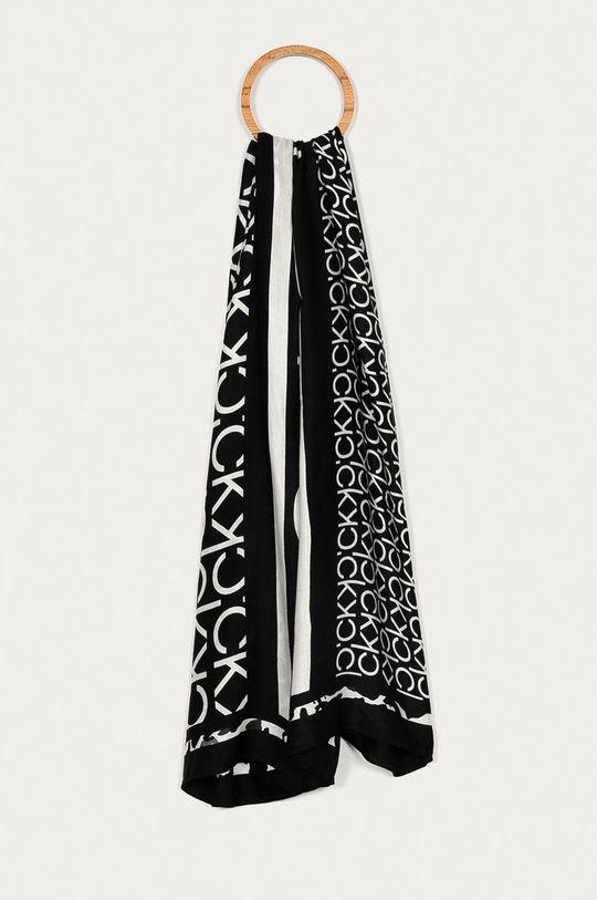 czarny Calvin Klein - Chusta Damski