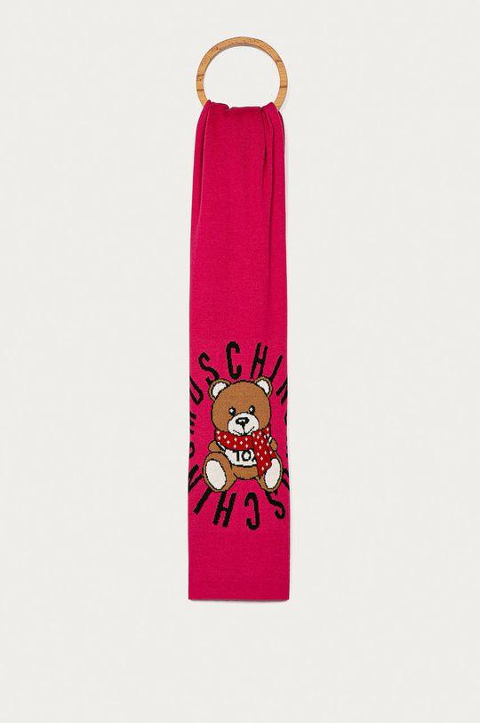 roz ascutit Moschino - Fular De femei