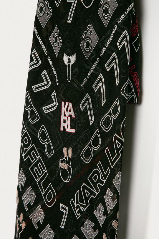 Karl Lagerfeld - Šatka čierna