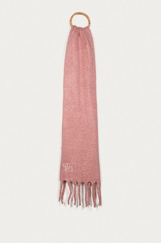 pastelowy różowy Levi's - Szalik Damski