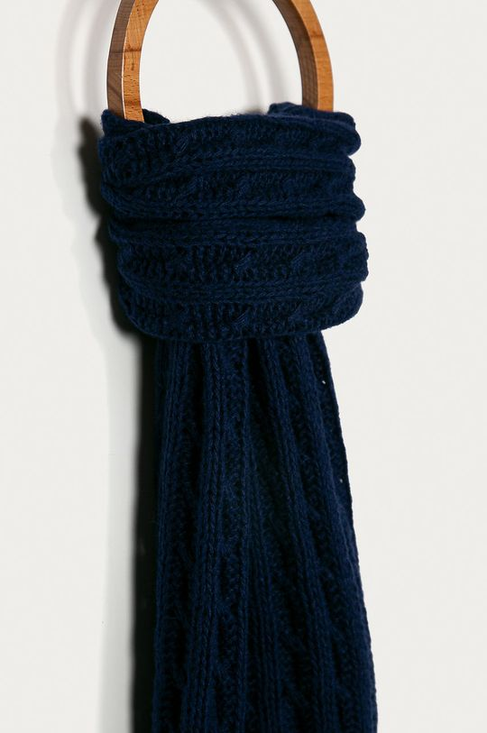 Stefanel - Fular bleumarin