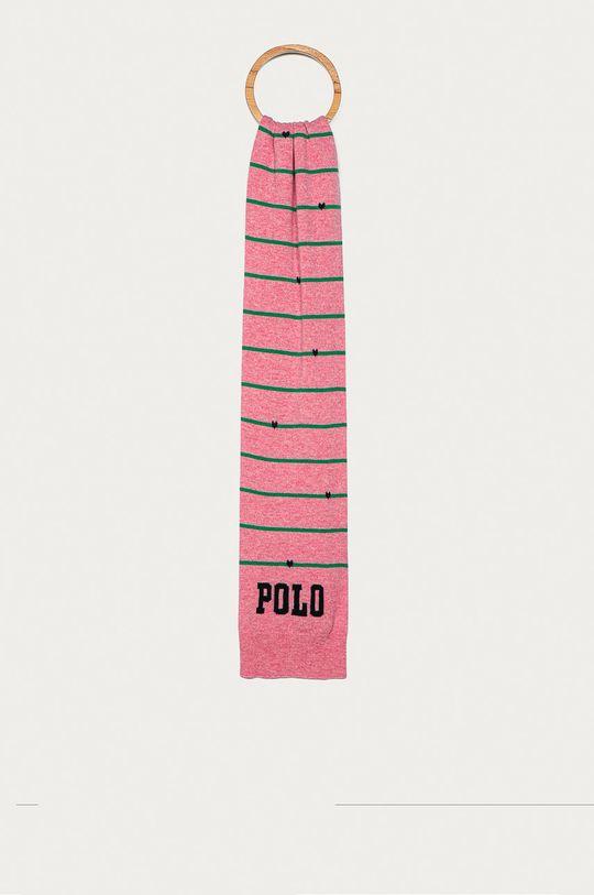 ružová Polo Ralph Lauren - Šál Dievčenský