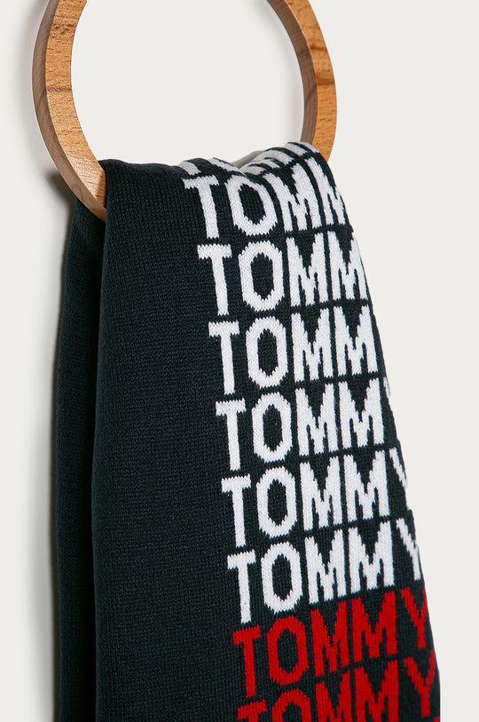 Tommy Jeans - Szalik granatowy