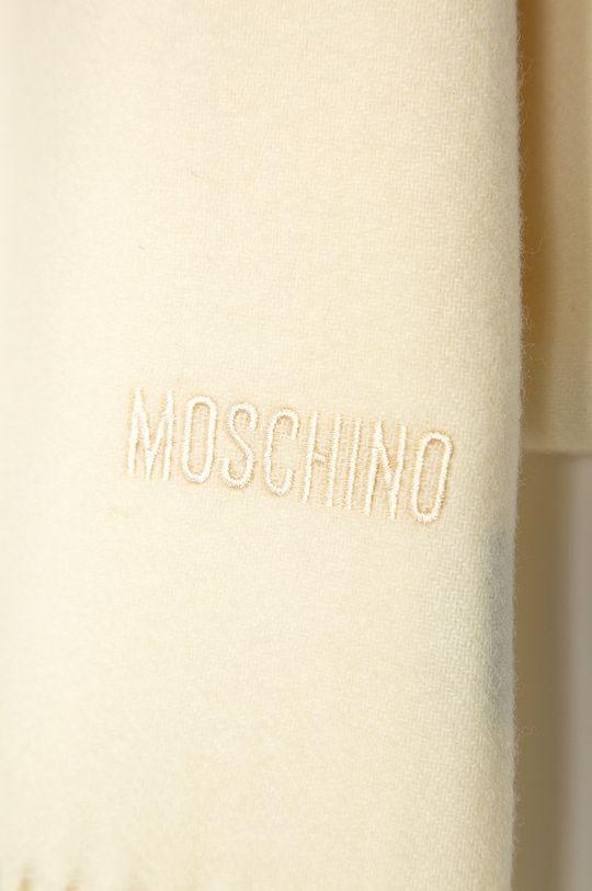 Moschino - Szalik 100 % Wełna merynosów