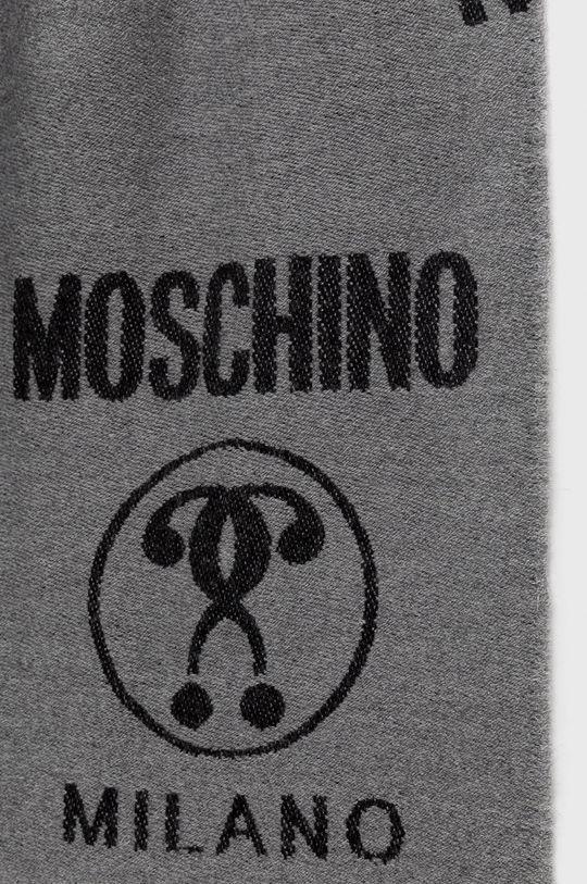 Moschino - Szalik jasny szary
