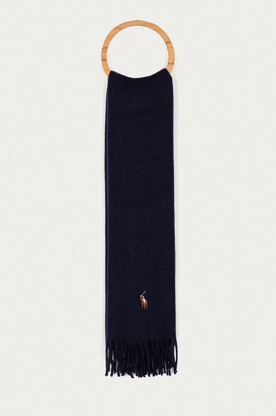 granatowy Polo Ralph Lauren - Szalik Męski