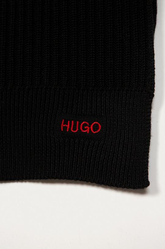 Hugo - Szalik czarny