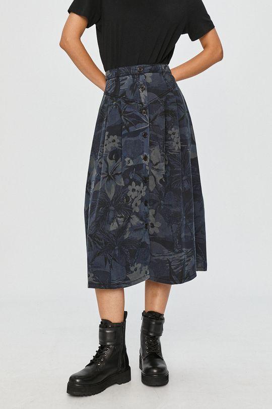 granatowy Desigual - Spódnica Damski