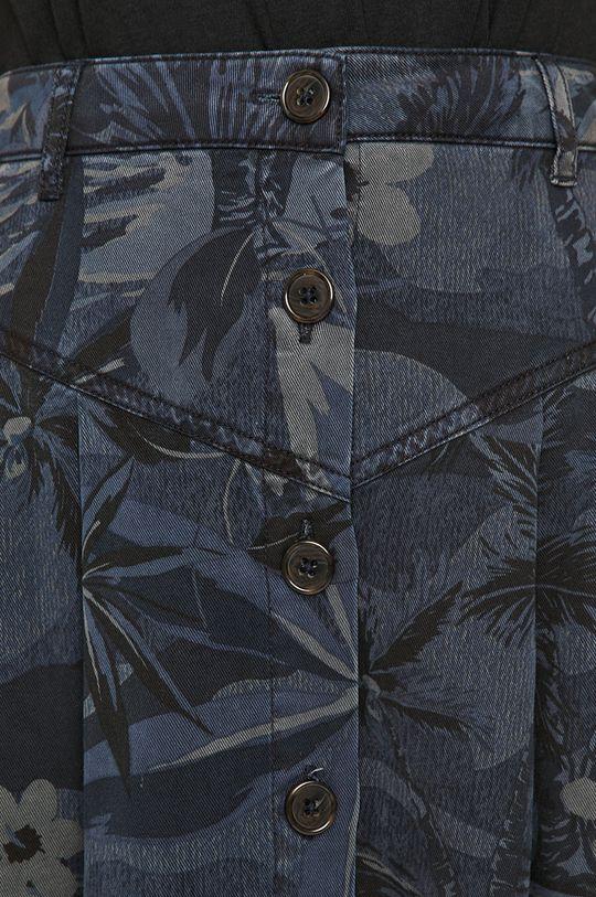 granatowy Desigual - Spódnica