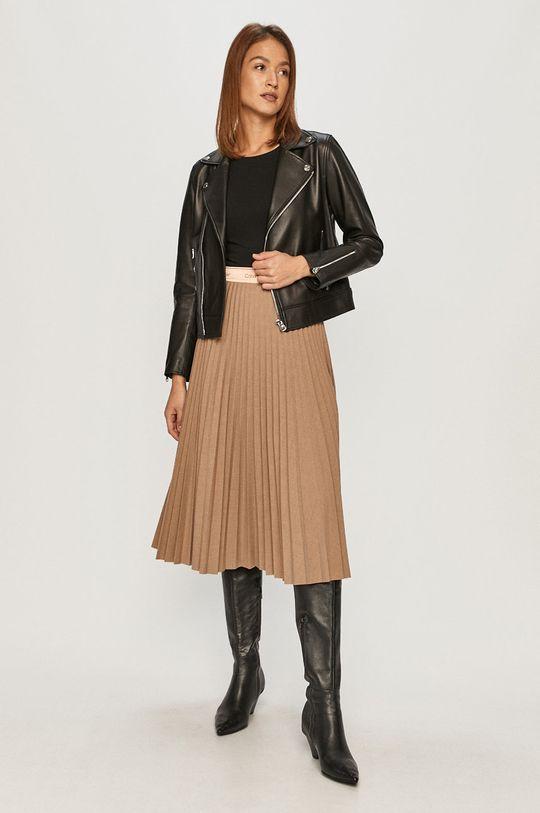 béžová Calvin Klein - Sukňa