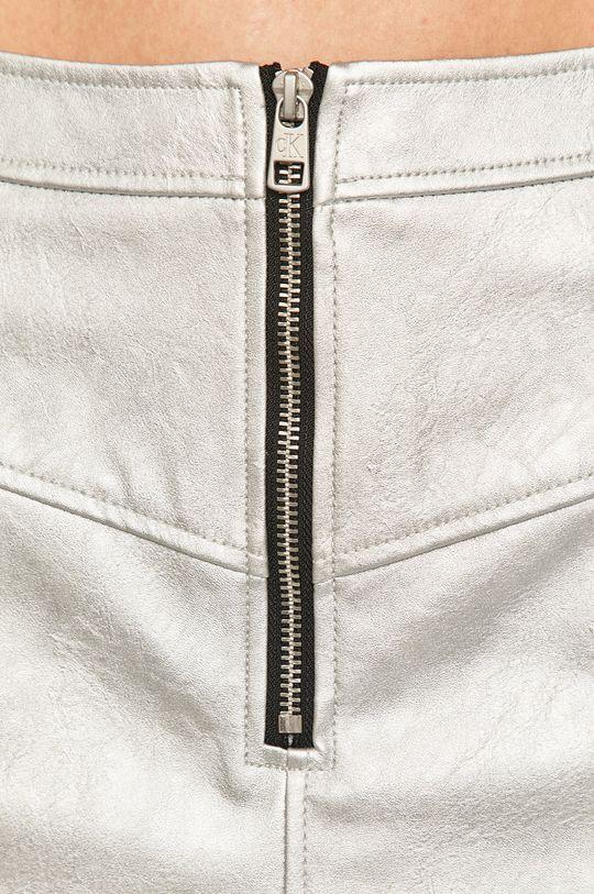 šedá Calvin Klein Jeans - Sukně