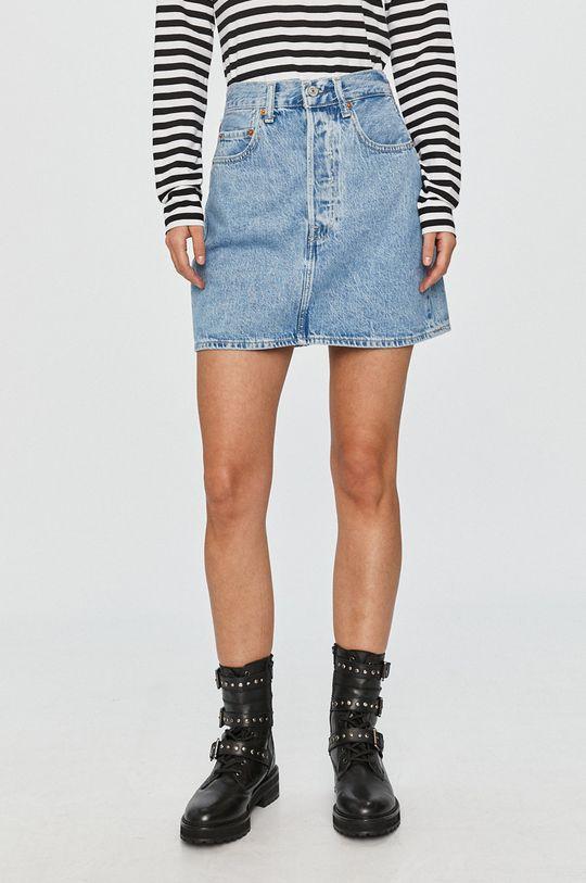 blady niebieski Levi's - Spódnica jeansowa Damski
