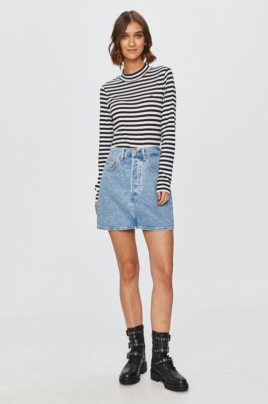 Levi's - Spódnica jeansowa blady niebieski