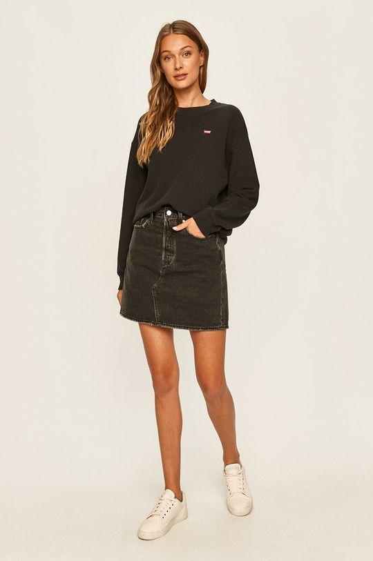 Levi's - Spódnica jeansowa czarny
