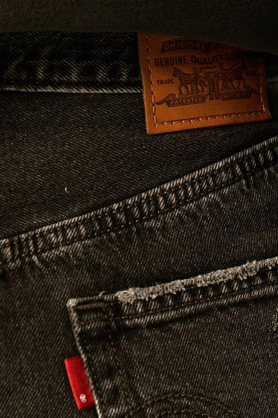czarny Levi's - Spódnica jeansowa