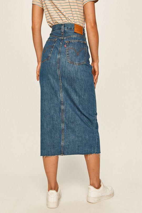 Levi's - Rifľová sukňa  100% Bavlna