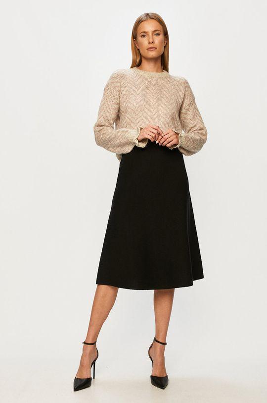 Vero Moda - Sukňa čierna