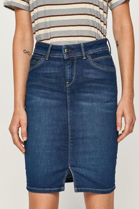 modrá Pepe Jeans - Rifľová sukňa Taylor Dámsky