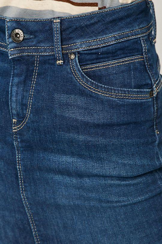 modrá Pepe Jeans - Rifľová sukňa Taylor