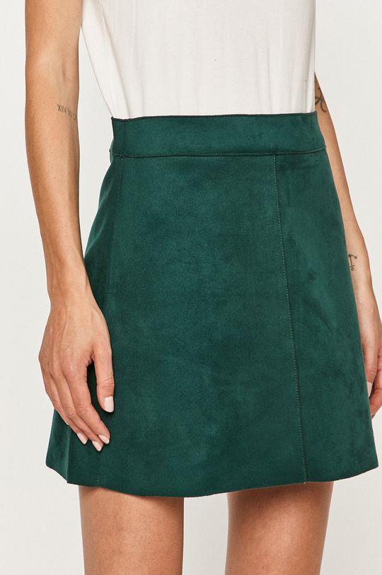 stalowy zielony Only - Spódnica