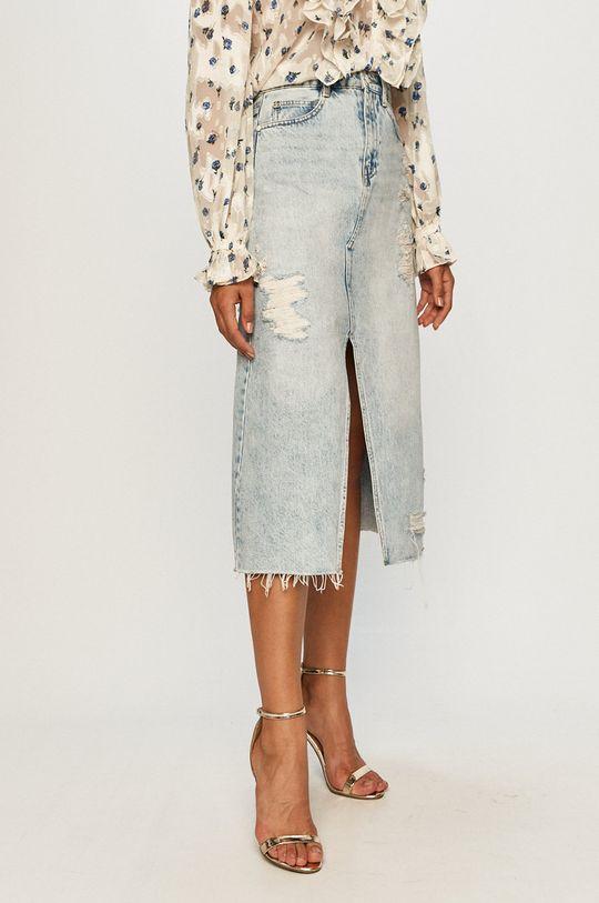 modrá Miss Sixty - Rifľová sukňa Dámsky