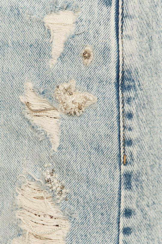 modrá Miss Sixty - Rifľová sukňa