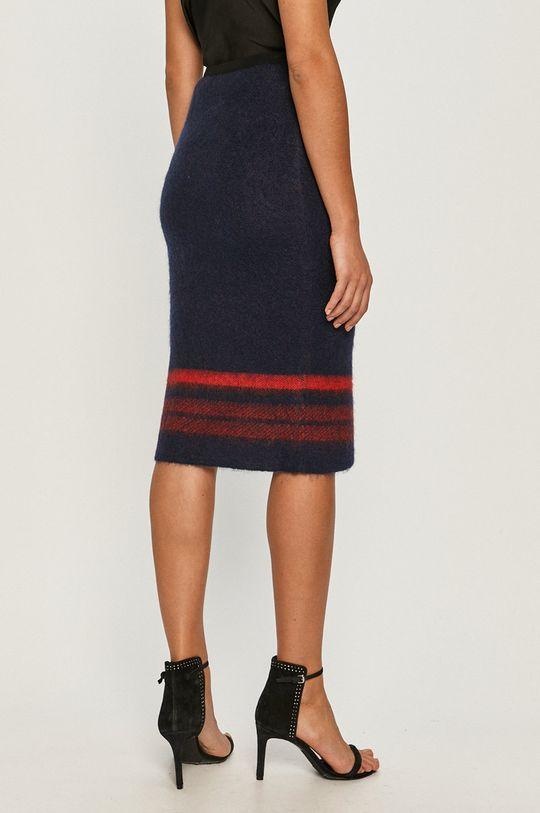 Red Valentino - Sukně  1% Kašmír, 37% Mohér, 36% Polyamid, 22% Vlna, 4% Viskóza