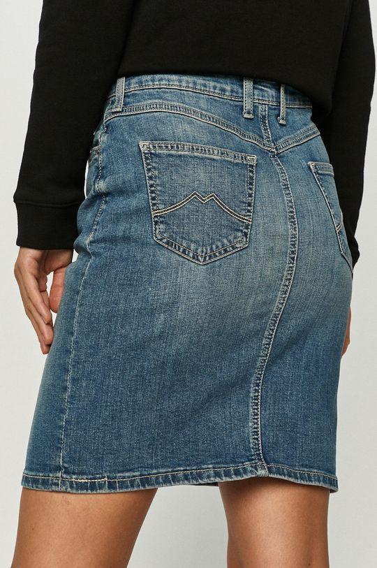 Mustang - Fusta jeans  99% Bumbac, 1% Elastan