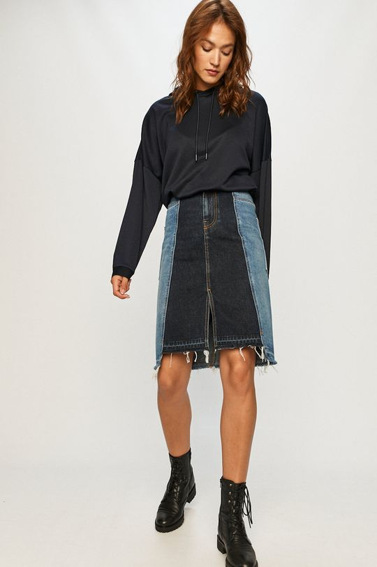 Diesel - Rifľová sukňa modrá