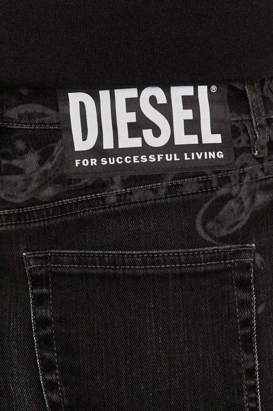 czarny Diesel - Spódnica jeansowa