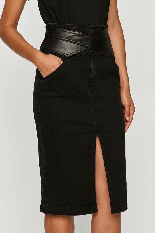czarny Pinko - Spódnica jeansowa Damski