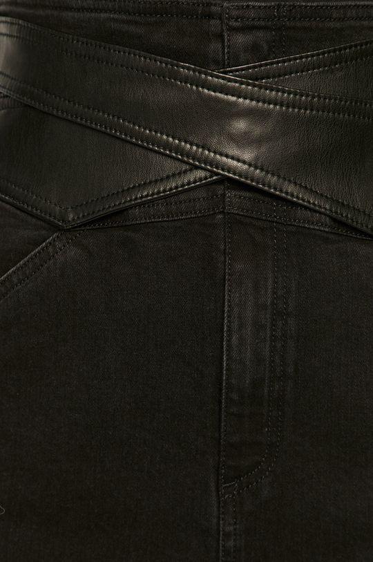 czarny Pinko - Spódnica jeansowa