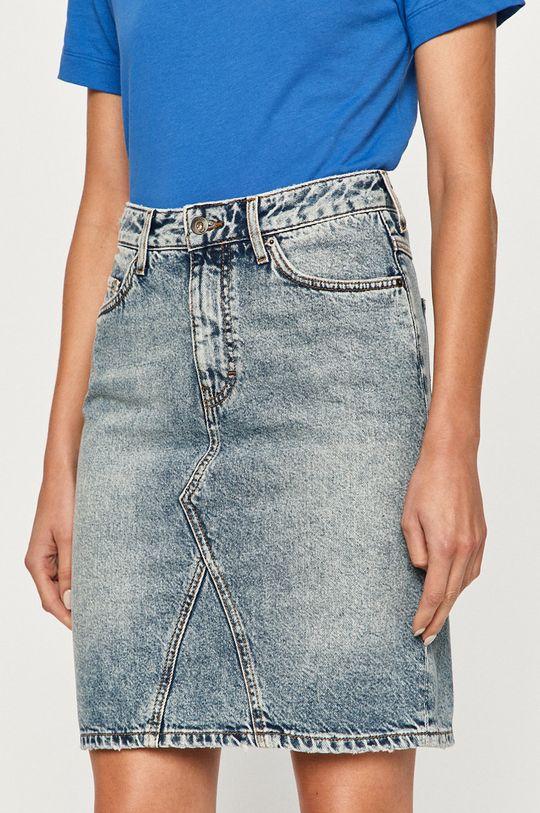 albastru Mustang - Fusta jeans De femei