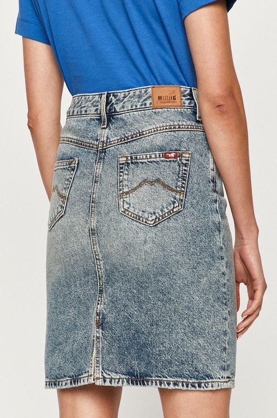Mustang - Fusta jeans  100% Bumbac