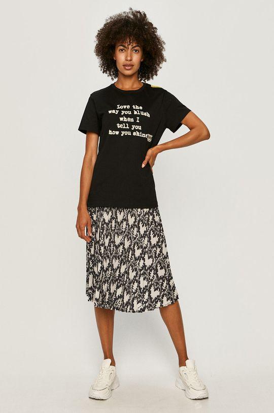 Love Moschino - Spódnica jasny szary