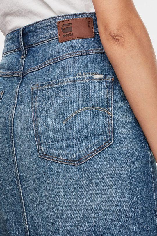 G-Star Raw - Spódnica jeansowa 99 % Bawełna, 1 % Elastan