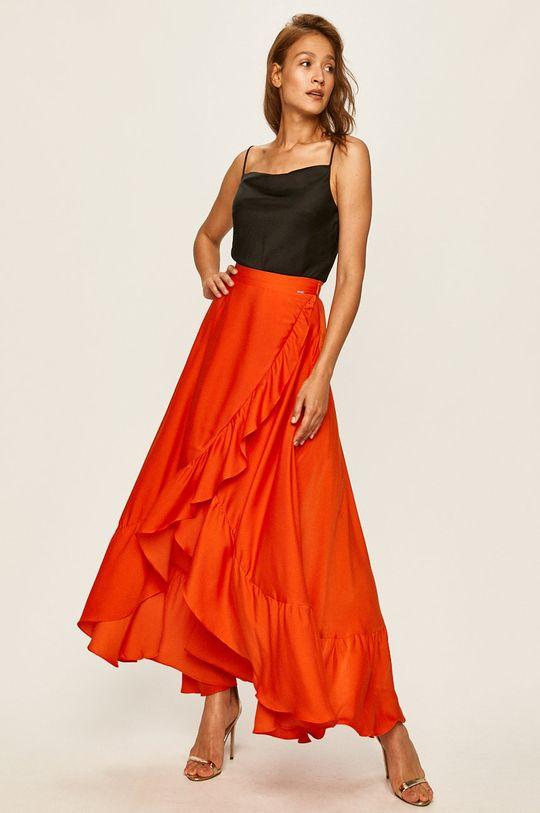Guess Jeans - Sukně oranžová