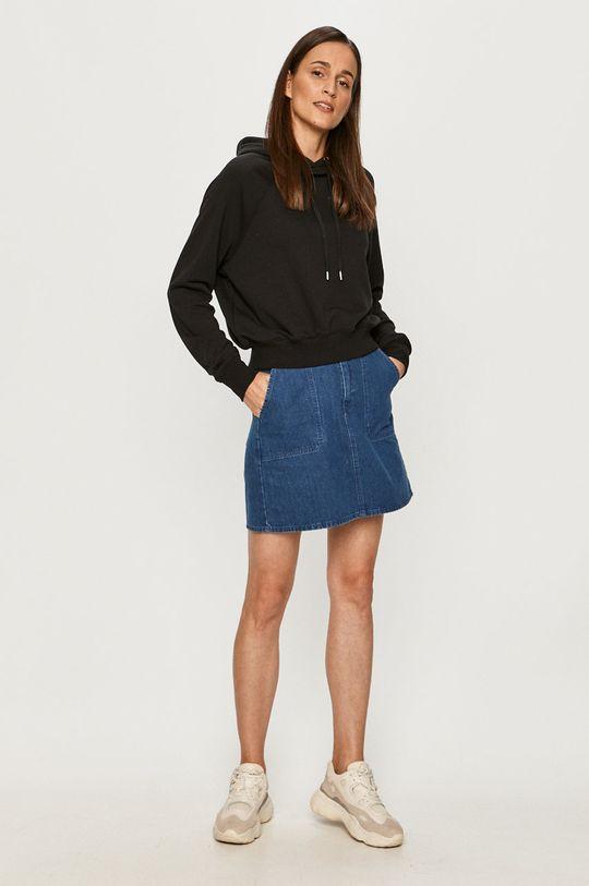 Lee - Spódnica jeansowa granatowy