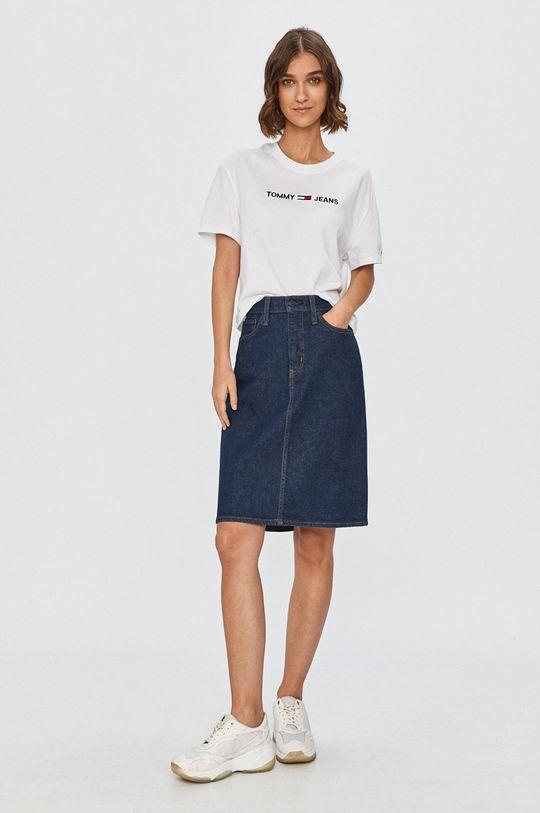 Levi's - Fusta jeans bleumarin