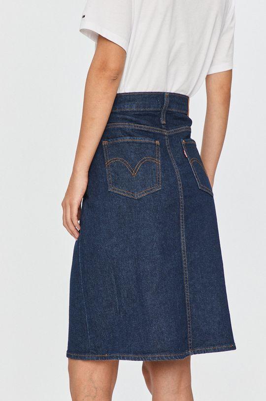 Levi's - Fusta jeans  98% Bumbac, 2% Elastan
