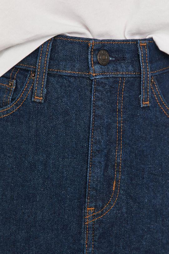 bleumarin Levi's - Fusta jeans