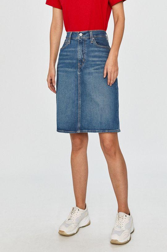 albastru Levi's - Fusta jeans De femei