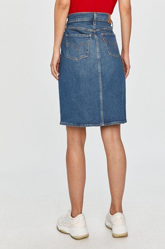 Levi's - Rifľová sukňa  98% Bavlna, 2% Elastan