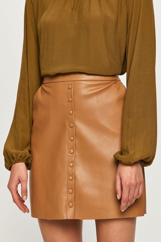 brązowy Vero Moda - Spódnica Damski