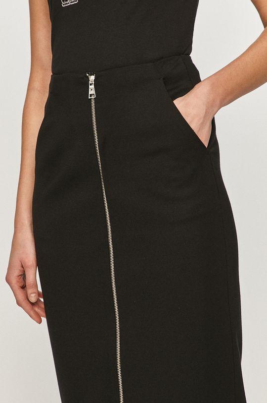 czarny Karl Lagerfeld - Spódnica