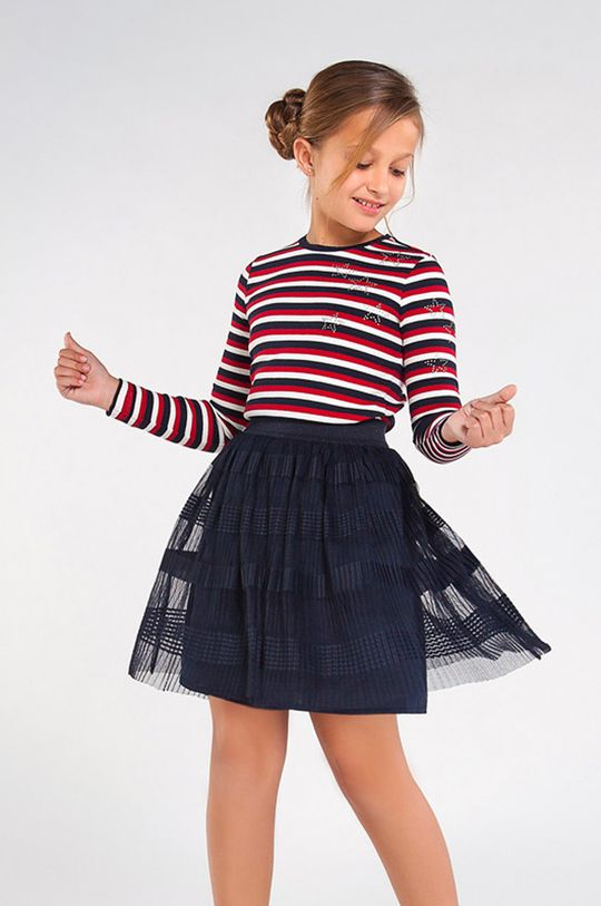 tmavomodrá Mayoral - Dievčenská sukňa 128-167 cm Dievčenský
