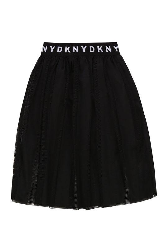 czarny Dkny - Spódnica dziecięca Dziewczęcy